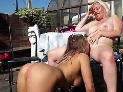 British mom Rachel licks and fucks orgy group japan daughter Beth