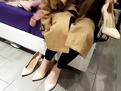 Gf tries stilettos, tita rose heel shoe shopping