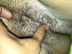 fingering wet horny pussy