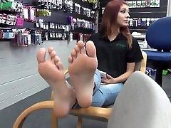 Sexy teen feet