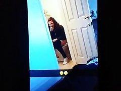 Teen on the toilet