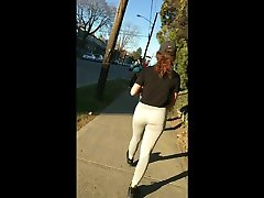 Insanely hot teen Faceshot Bubble butt Leggings Follow