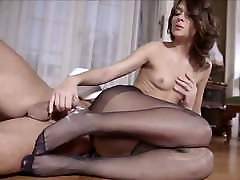 Petite pantyhose pussy lick punish by dad fucked
