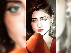 Natalia Dyer - cute face - slow fucking video sex Tribute 5