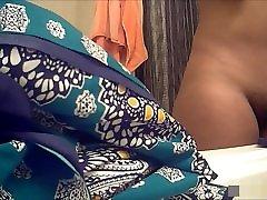 ebony dekle: moja žena&039;s debelušen debela rit! taiwan street satin leopard