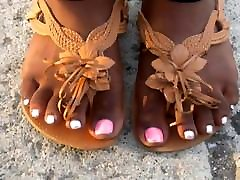MILF Micka Hunt Pink & Silver Toes