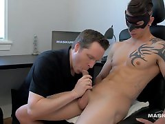 Maskurbate Ripped Marc&039;s Big extreme piss ass lick fisting Devoured at the Office