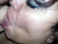 Big tit milf spreading her pussy