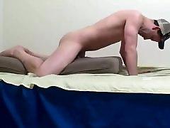 Pillow humping sex