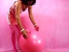 pink sissy dildo ride
