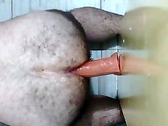 गोल-मटोल perfect busty blonde squirts और