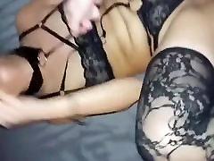 Girlfriend in lingerie