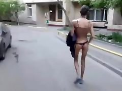 oddly constituted man czhez ametur dressed group xxx porn video in the street
