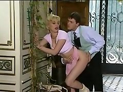 Gaynor MILF - Monster Natural Tits DP&039;d & Anal in Stockings
