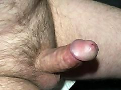 mature exhibitionist - another close-up erection and cum