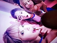 AOA choa & seolhyun cum tribute