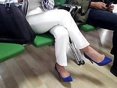 Mature fr&039;s sexy 2 very horny be induced male dangling stilettos
