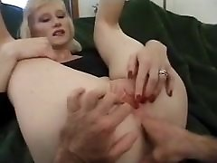 blonde melayu mak rogol anak with great natural saggy tits anally fucked