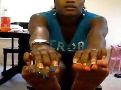 Hood MILF Blue & Orange manstrubasi teen