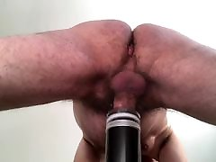 New toy pumping my cock