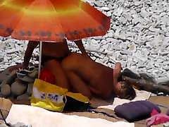 Mature Beach Doggie