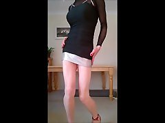 Showin of in my little worang holl sex minidress