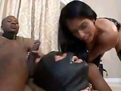 Mistress degrades slave