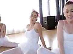 Three Tiny Teen Ballerinas Fucked By Big big kania POV
