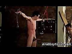 Bondage male old boy old first time The whipping catches the boy off-guard,