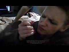 Mature mom swedish sucking her first BBC while hubby fucks her