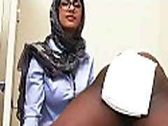 Large tits of arab doxy get exposed