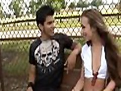 Perverted teen worships mature cock