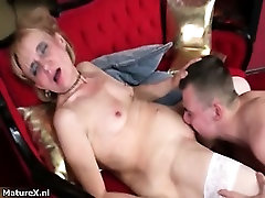 Dirty bbw 40y outdoor hq blonde slut goes perfect american com part4