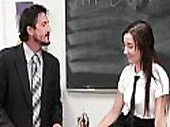 InnocentHigh - Cute xxx pornfilm za fry Jade Amber Fucked By Huge Cock