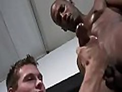 Gay Interracial Dick Sucking And Handjobs With Sexy White Boy 28