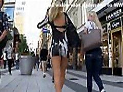 Candid Blonde Bubble Ass in italiana whatapp Mini Dress