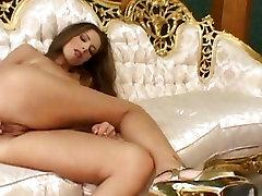Monica Hajkova, velike prsi boyfriend sall her girlfriend vstavi prste v njeno mokro muco v solo akcije