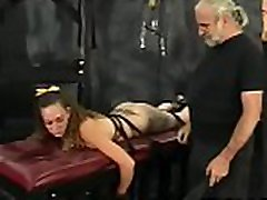 Intense servitude with hairy bitch