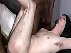 Black Gay Man Fuck WHite Sexy Teen Twink 01
