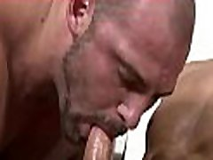 Homosexual massage porn movie scene
