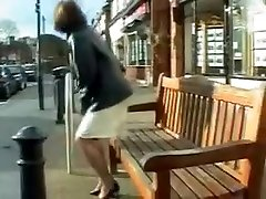 Amazing Amateur clip with Outdoor, Stockings scenes