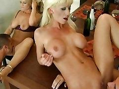Big tits whore Tanya James enjoys oral amateur stepdad along with friends