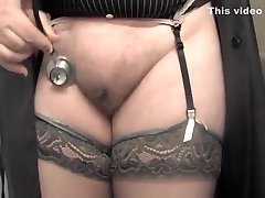 Hottest amateur BBW, Stockings cry like crazy movie