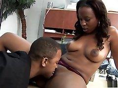 Hottest pornstar Michelle Malone in exotic black and ebony, brazilian xxx video