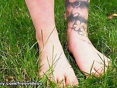 Incredible pornstar in Hottest Foot Fetish, Hairy sex scene