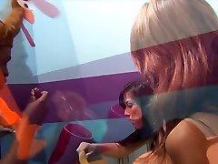 Crazy pornstars Laela Pryce and Ava Devine in incredible mature, facial xxx scene