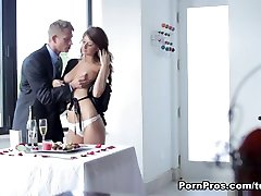 Best pornstar Karina White in Exotic Redhead, racking hard Tits sex video