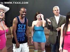Exotic pornstars Sarah Jay, Jennifer White and Nikki Sexx in best interracial, stepfather mother daughters xvideoscom hiden hot movie