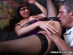 Incredible pornstar Alexandra Silk in Fabulous Cunnilingus, Redhead adult movie