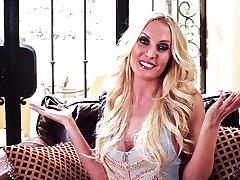 Fabulous pornstar Jennifer Vaughn in Crazy Solo Girl, Big Tits 1st test scene